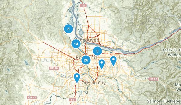 Portland Oregon Kid Friendly Map