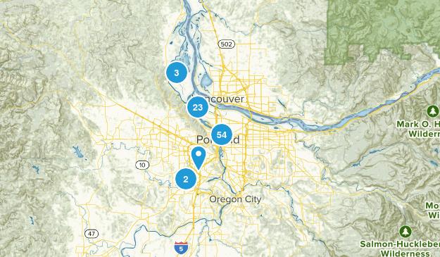 Portland, Oregon Kid Friendly Map