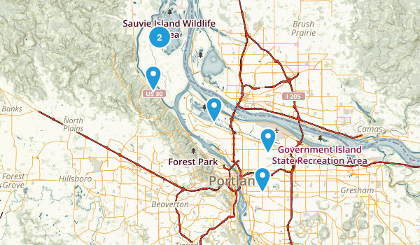 Us Map Oregon - Oregon on the us map