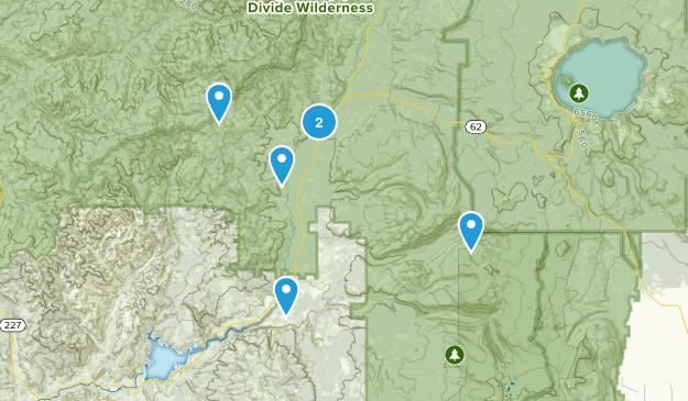 Prospect, Oregon Dogs On Leash Map