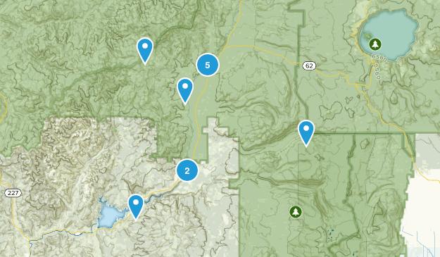 Prospect, Oregon Hiking Map