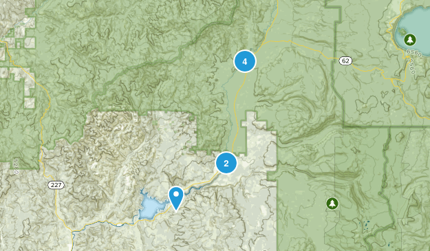 Prospect, Oregon Nature Trips Map