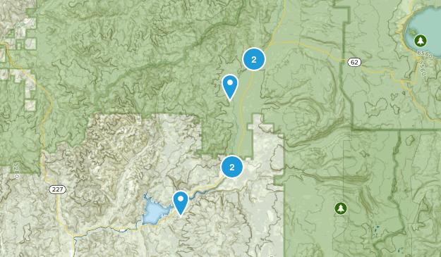 Prospect, Oregon River Map