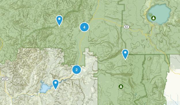 Prospect, Oregon Views Map