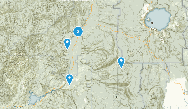 Best Waterfall Trails Near Prospect Oregon Photos - Oregon waterfalls map