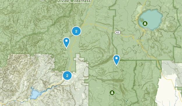 Prospect, Oregon Waterfall Map