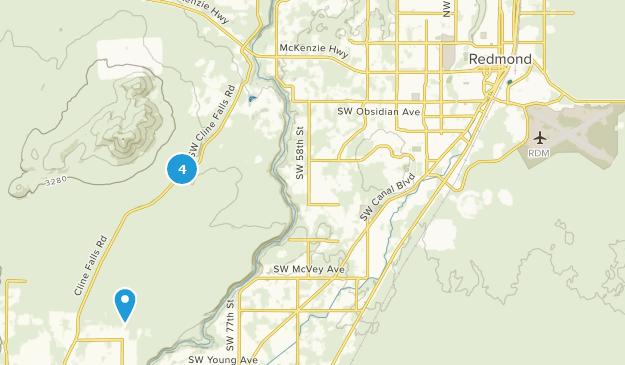Redmond, Oregon Bird Watching Map