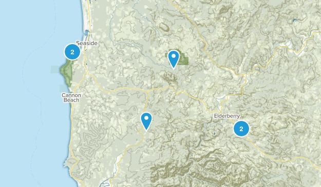 Seaside, Oregon Wildlife Map
