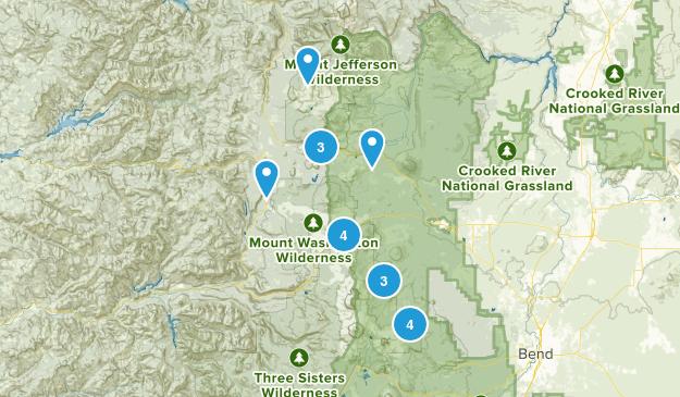 Sisters, Oregon Views Map