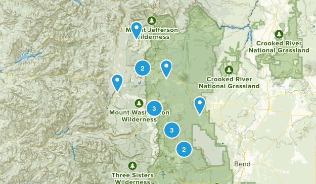 Sisters, Oregon Walking Map