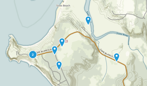 Sixes, Oregon Birding Map