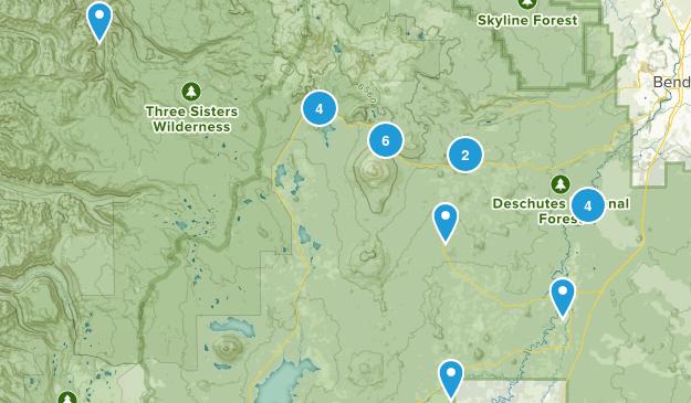 Sunriver, Oregon Birding Map