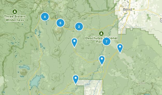 Sunriver, Oregon Walking Map
