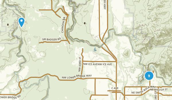 Terrebonne, Oregon Birding Map