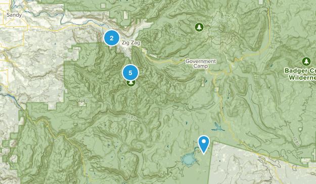 Welches, Oregon Wild Flowers Map