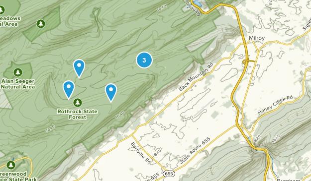 Barrville, Pennsylvania Birding Map