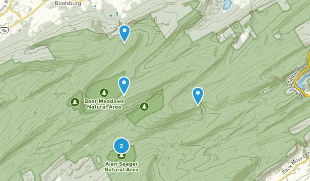 Boalsburg, Pennsylvania Walking Map