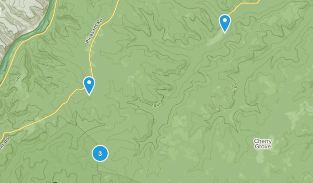 Clarendon, Pennsylvania Dogs On Leash Map