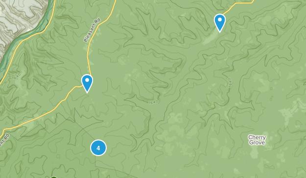 Clarendon, Pennsylvania Hiking Map