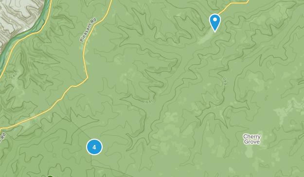 Clarendon, Pennsylvania Wild Flowers Map