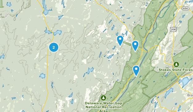 Dingmans Ferry, Pennsylvania Birding Map