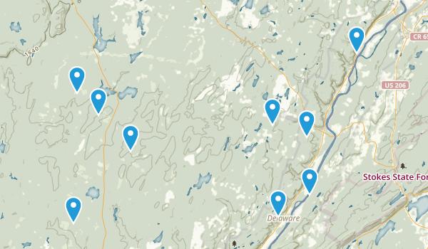 Dingmans Ferry, Pennsylvania Nature Trips Map