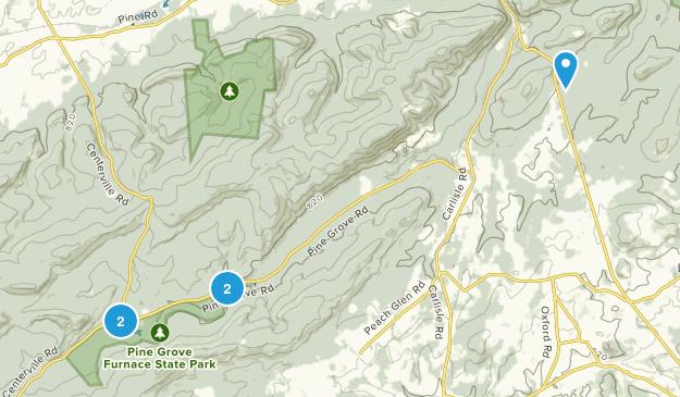 Gardners, Pennsylvania Walking Map