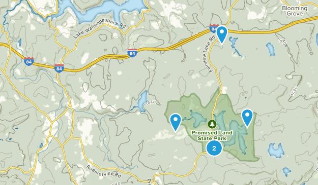 Greentown, Pennsylvania Birding Map