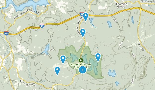Greentown, Pennsylvania Hiking Map
