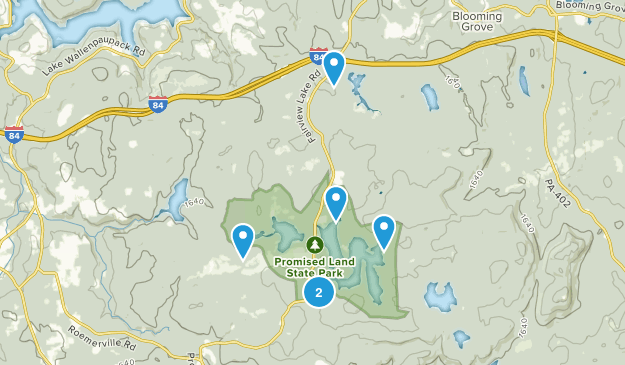 Greentown, Pennsylvania Nature Trips Map