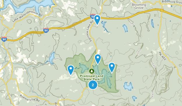 Greentown, Pennsylvania Views Map