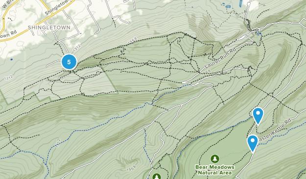 Harris, Pennsylvania Forest Map