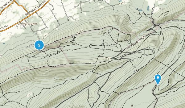 Harris, Pennsylvania Nature Trips Map