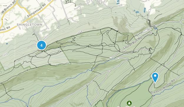 Harris, Pennsylvania Walking Map