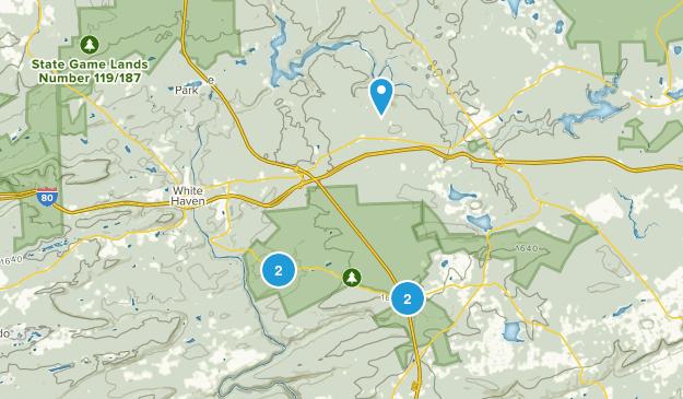 Lake Harmony, Pennsylvania Views Map