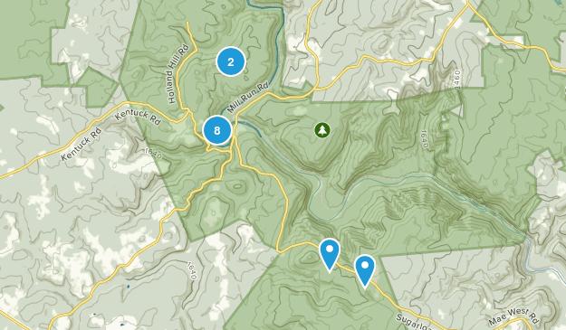 Ohiopyle, Pennsylvania Nature Trips Map