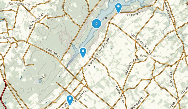 Perkasie, Pennsylvania Nature Trips Map