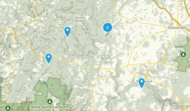Rockwood, Pennsylvania Views Map