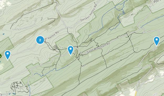 Spring Mills, Pennsylvania Nature Trips Map