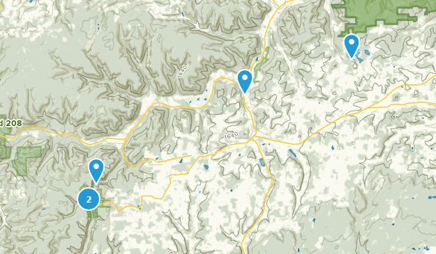 Wellsboro, Pennsylvania Bird Watching Map