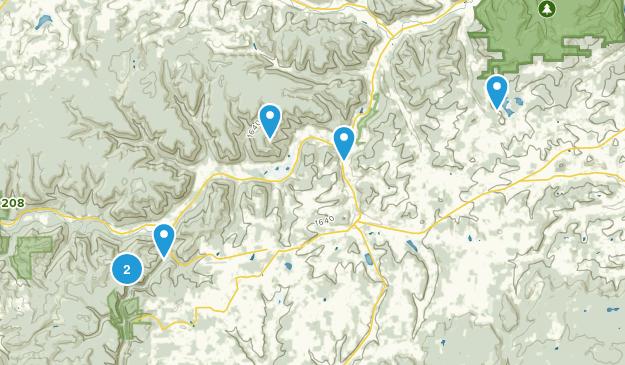 Wellsboro, Pennsylvania Hiking Map