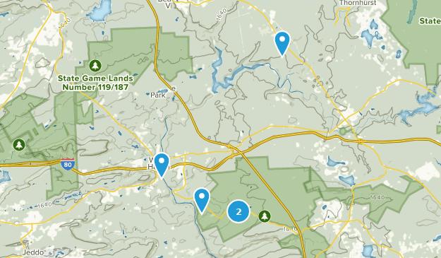 White Haven, Pennsylvania Hiking Map