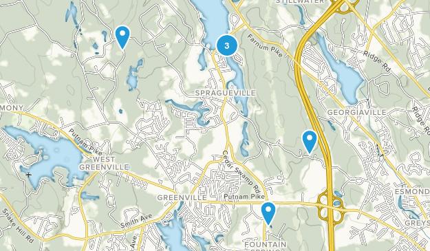 Smithfield, Rhode Island Trail Running Map
