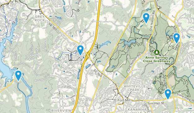 Fort Mill, South Carolina Views Map