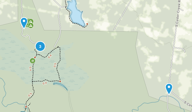 Hopkins, South Carolina Forest Map