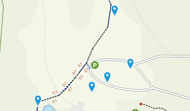 Wedgefield, South Carolina Mountain Biking Map
