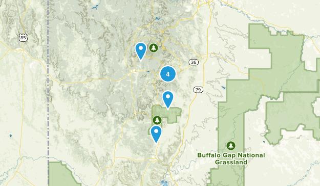 Custer, South Dakota Birding Map