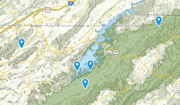Bristol, Tennessee Views Map