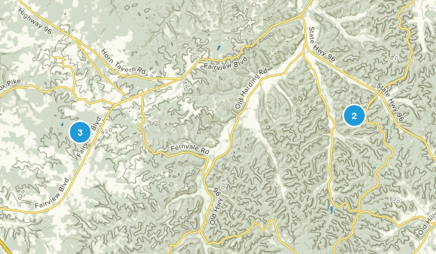 Fairview, Tennessee Kid Friendly Map