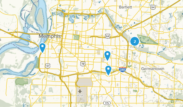 Beste Stadtspaziergänge in der Nähe von Memphis, Tennessee ...